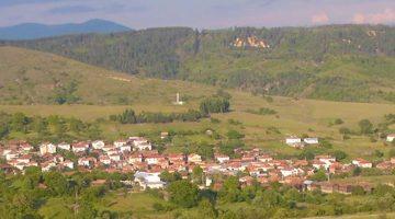 The village of Gorno Draglishte