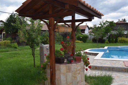 градина Къща за гости Жабокрек