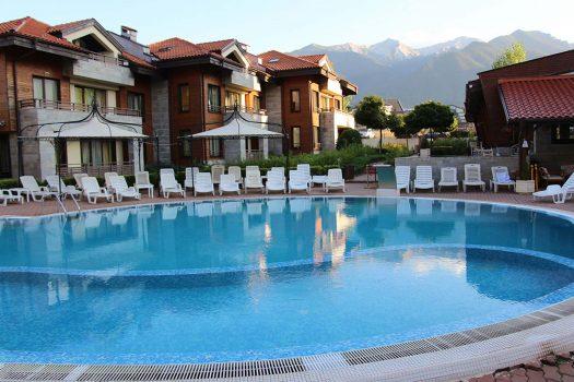 външен басейн - хотел Мурите