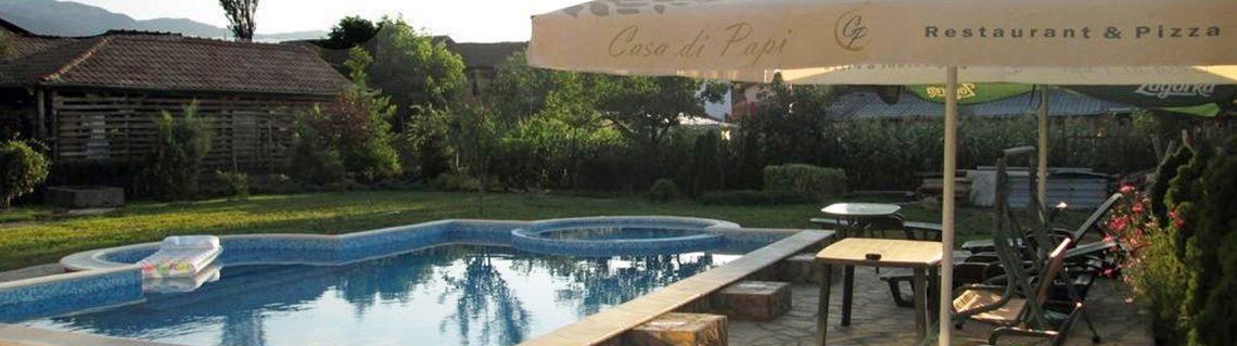 басейн Къща за гости Жабокрек